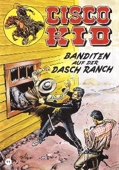 CCH Comics – Cisco Kid Nr. 11 – Banditen auf der Dasch Ranch