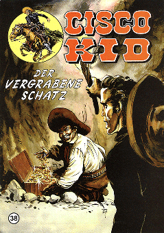 CCH Comics – Cisco Kid Nr. 38 – Der vergrabene Schatz