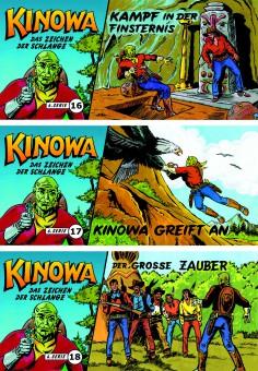 CCH Comics – 6. Serie - Im Zeichen der Schlange – komplette Piccolo-Serie mit 18 Heften