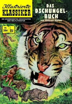 ILLUSTRIERTE KLASSIKER Nr. 206 – Das Dschungelbuch nach Rudyard Kipling – Auflage nur 444 Stk.