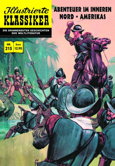 ILLUSTRIERTE KLASSIKER Nr. 213 – Abenteuer im Inneren Nord-Amerikas