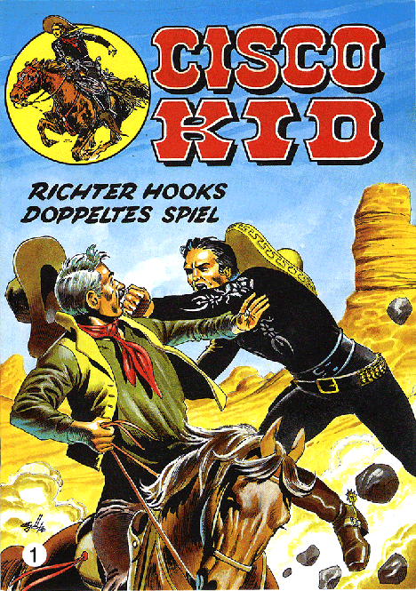 CCH Comics – Cisco Kid Nr. 01 – Richter Hooks doppeltes Spiel