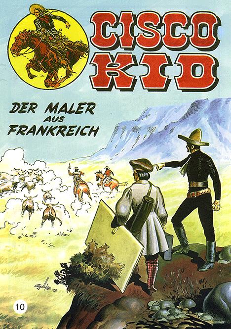 CCH Comics – Cisco Kid Nr. 10 – Der Maler aus Frankreich