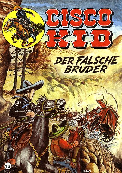 CCH Comics – Cisco Kid Nr. 16 – Der falsche Bruder