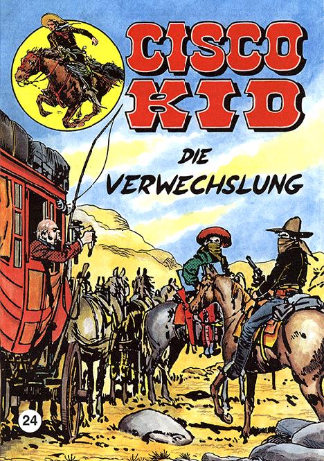 CCH Comics – Cisco Kid Nr. 24 – Die Verwechslung