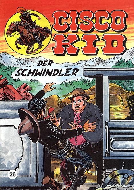 CCH Comics – Cisco Kid Nr. 26 – Der Schwindler