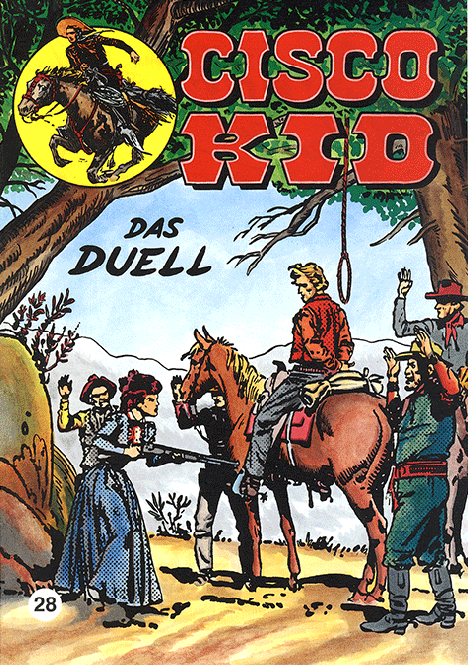 CCH Comics – Cisco Kid Nr. 28 – Das Duell