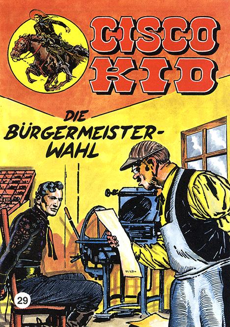 CCH Comics – Cisco Kid Nr. 29 – Die Bürgermeister-Wahl