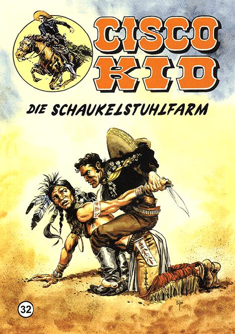 CCH Comics – Cisco Kid Nr. 32 – Die Schaukelstuhlfarm