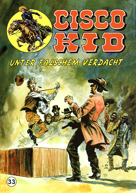 CCH Comics – Cisco Kid Nr. 33 – Unter falschem Verdacht