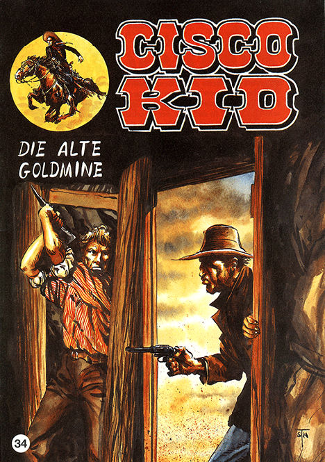 CCH Comics – Cisco Kid Nr. 34 – Die alte Goldmine