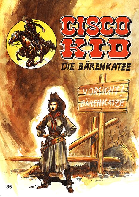 CCH Comics – Cisco Kid Nr. 35 – Die Bärenkatze
