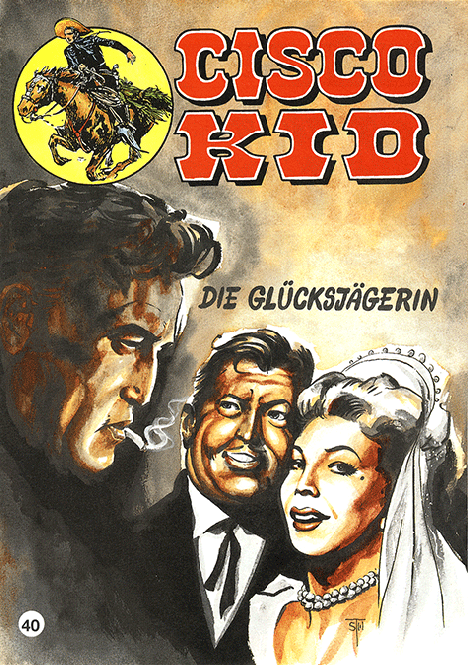 CCH Comics – Cisco Kid Nr. 40 – Die Glücksjägerin