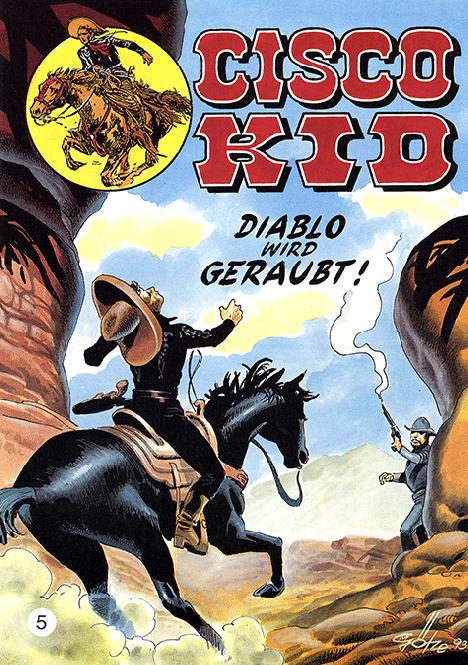 CCH Comics – Cisco Kid Nr. 05 – Diablo wird geraubt!