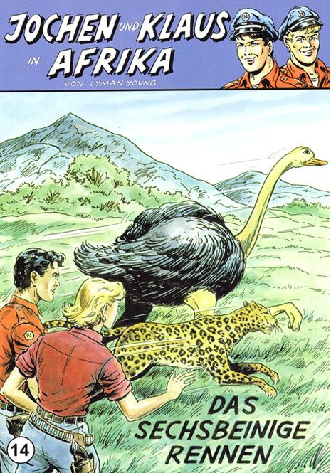 CCH Comics – Jochen und Klaus in Afrika Nr. 14 – Das sechsbeinige Rennen