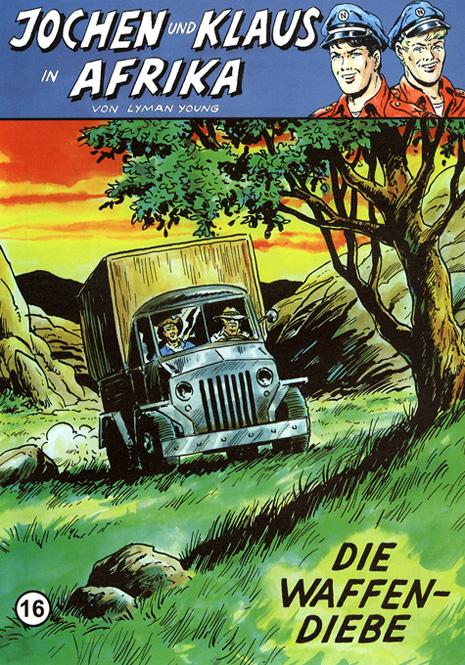 CCH Comics – Jochen und Klaus in Afrika Nr. 16 – Die Waffendiebe