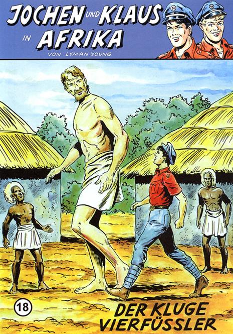 CCH Comics – Jochen und Klaus in Afrika Nr. 18 – Der kluge Vierfüssler