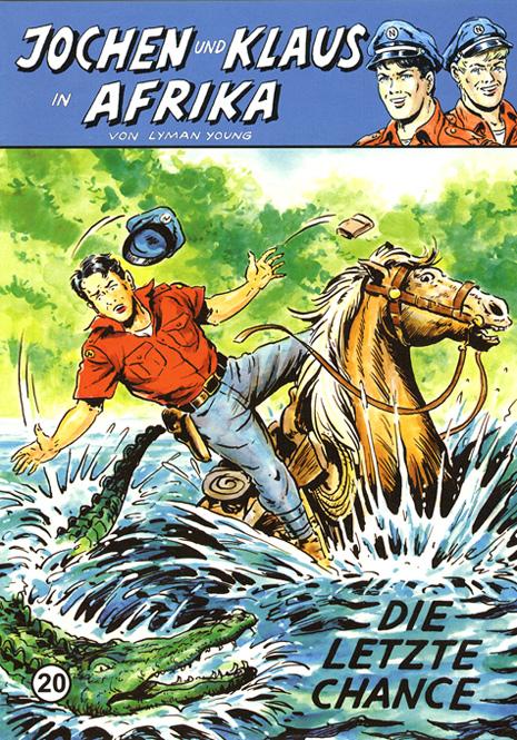 CCH Comics – Jochen und Klaus in Afrika Nr. 20 – Die letzte Chance