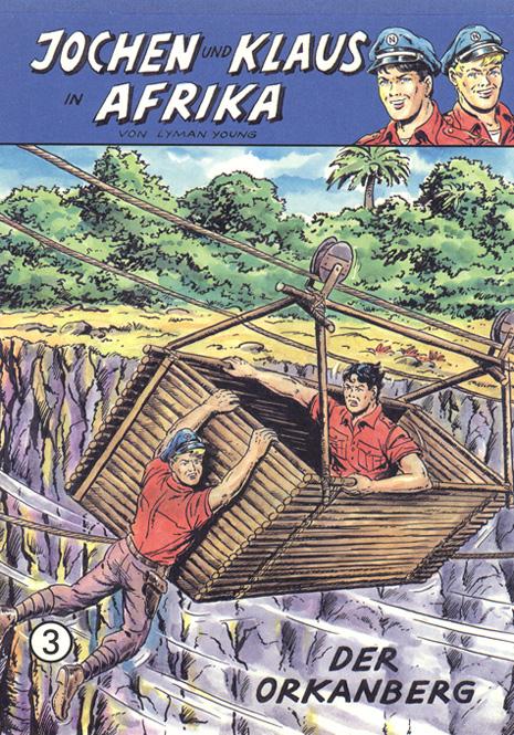 CCH Comics – Jochen und Klaus in Afrika Nr. 03 – Der Orkanberg