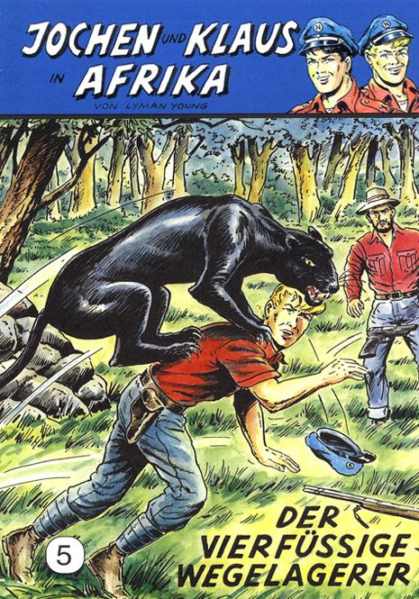CCH Comics – Jochen und Klaus in Afrika Nr. 05 – Der vierfüssige Wegelagerer