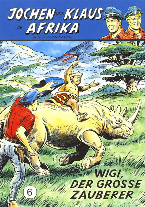 CCH Comics – Jochen und Klaus in Afrika Nr. 06 – Wigi, der grosse Zauberer