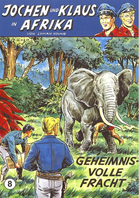 CCH Comics – Jochen und Klaus in Afrika Nr. 08 – Geheimnisvolle Fracht