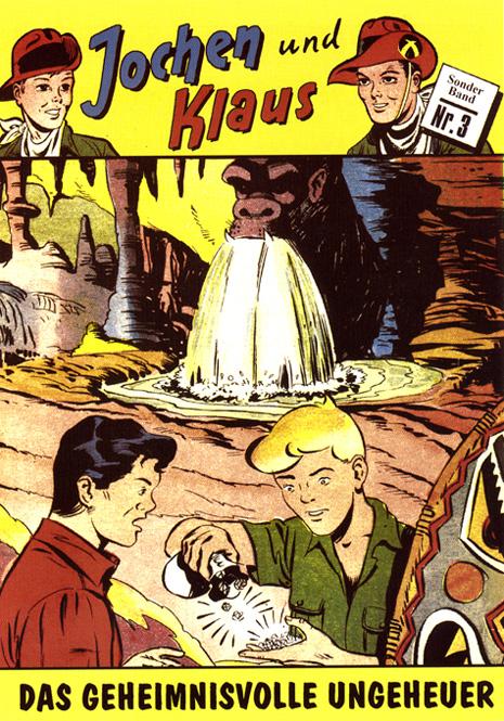CCH Comics – Jochen und Klaus Nr. 03 – Das geheimnisvolle Ungeheuer