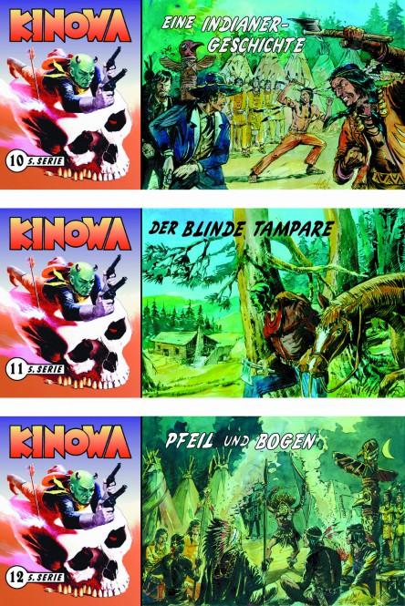 CCH Comics – 5. Serie, Kinowa und die Tochter des Komantschen – komplette Piccolo-Serie mit 18 Heften