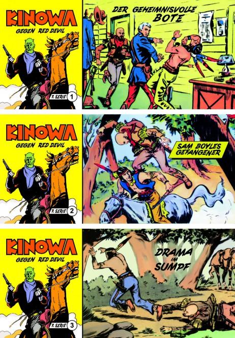 CCH Comics – 7. Serie Red Devil – komplette Piccolo-Serie mit 18 Heften