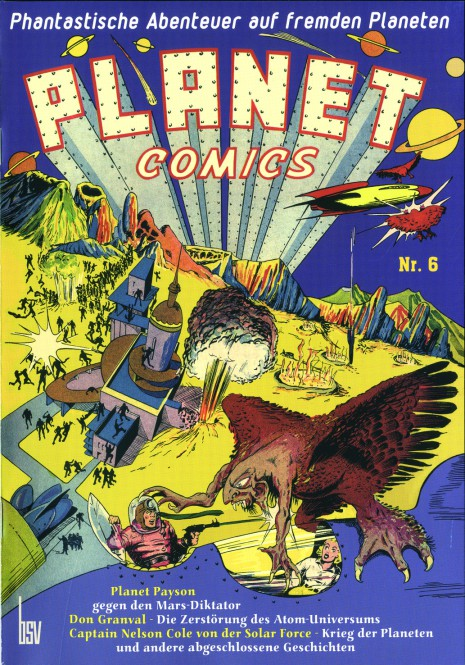 bsv Classics – Planet Comics Nr. 6