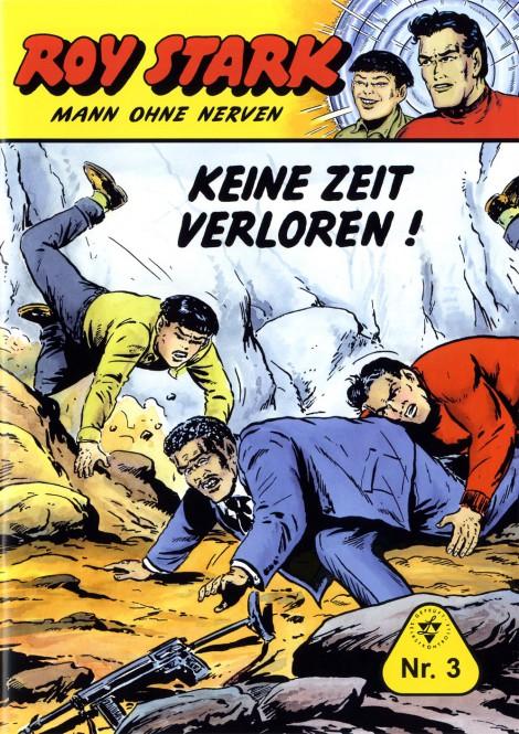 bsv Classics – Roy Stark – Mann ohne Nerven – Nr. 3 – KEINE ZEIT VERLOREN !