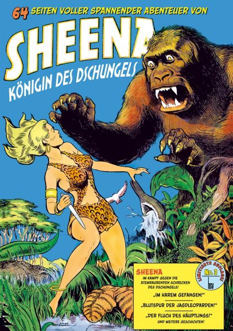 LIMITIERTE AUFLAGE! bsv Classics – Sheena – Königin des Dschungels Nr. 3