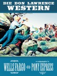 bsv Classics – Die Don Lawrence Western – Wells Fargo und Pony Express – Hardcover-Ausgabe