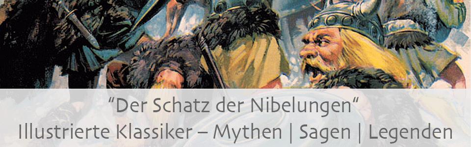 Illustrierte Klassiker Schatz der Nibelungen